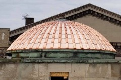 Copper dome project, St. Louis, MO