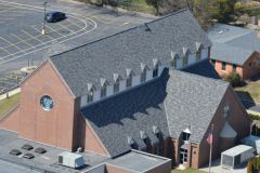 Shingle Roof, St. Louis area church