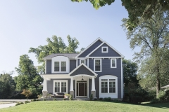 Custom Home in Glendale, MO/Project completed 2017