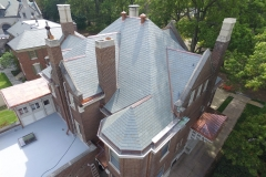 Custom Slate Roof & Copper Sheet Metal