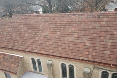 Ludowici Interlocking Tile Roof, St. Louis Hills, MO