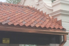 Ludowici Spanish 'S' multi color clay tile roof, St. Louis County