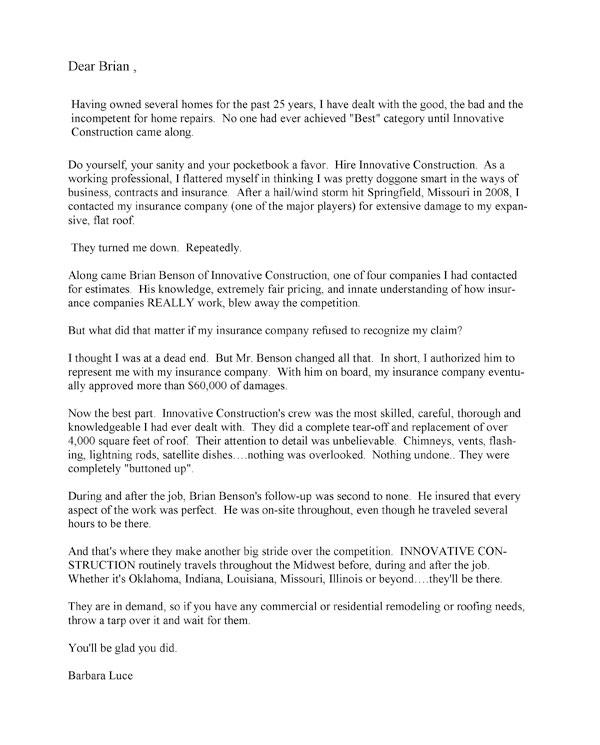 Testimonials Amp Reviews