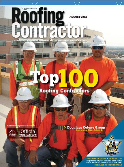 roofing contractor top 100