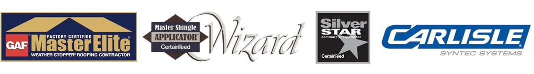 certified roofer logo