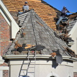Slate roof replacement