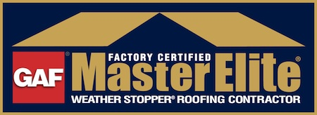 GAF Master Elite Contractor seal