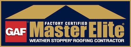 GAF Master Elite Contractor seal